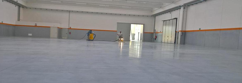 Lucidatura e Levigatura Pavimento in Cemento industriale a Perugia